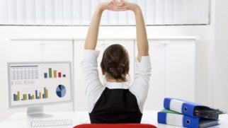 La ginnastica per l'ufficio